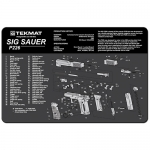 "TekMat Sig Sauer P226 Gun Cleaning Mat 11"" Wide x 17"" Long - Black"