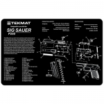 "TekMat Sig Sauer P250 Gun Cleaning Mat 11"" Wide x 17"" Long - Black"