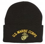 USMC Embroidered Knit Watch Cap