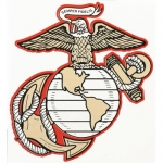 "U.S. Marines Decal - 6.25"" - Globe and Anchor"