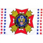 Veterans of Foreign Wars Flag- Super Poly 3' x 5'