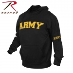 Rothco Army Military Embroidered Pullover Hoodies