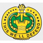 "U.S. Army Decal - 3.5"" x 4"" - ""This We'll Defend"""