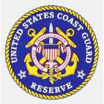 "U.S. Coast Guard Decal - 4"" - ""USCG Reserve"" Seal"
