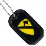 United States Army 1st Cavalry Dog Tag