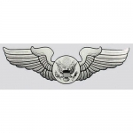 "U.S. Air Force Decal - 1.5"" x 5.25"" - USAF Wings"