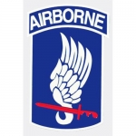 "U.S. Army Decal - 2.5"" x 3.8"" - Airborne 173rd"