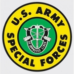 "U.S. Army Decal - 4"" - Special Forces Insignia"