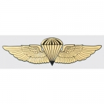 "U.S. Marines Decal - 5.375"" - USMC/Navy Jump Wings"