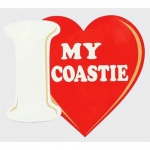 "U.S. Coast Guard Decal - 4"" x 4.5 - ""..My Coastie"""