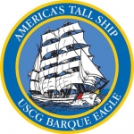 "U.S. Coast Guard Decal - 5"" - America's Tall Ship"