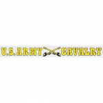 "U.S. Army Decal - 14"" - ""US Army Cavalry"" - Strip"