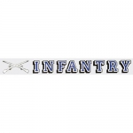 "U.S. Army Decal - 15"" - ""Infantry"" - Strip"
