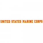 "U.S. Marines Decal - 17"" - USMC - Strip"