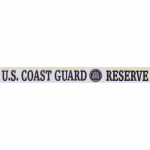 "US Coast Guard Decal - 14"" - ""USCG Reserve"" Strip"