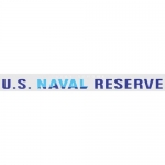 "U.S. Navy Decal - 15"" - ""U.S. Naval Reserve"" Strip"