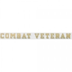 "Veteran Decal - ""Combat Veteran"" - 18"" Strip"