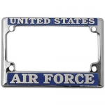 United States Air Force Motorcycle License Plate