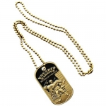 Wounded Warrior Bronze Dog Tag