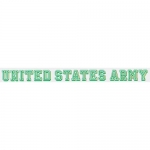 "U.S. Army Decal - 18"" - ""United States Army"" Strip"