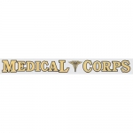 "U.S. Army Decal - 16"" - ""Medical Corps"" Strip"