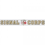 "U.S. Army Decal - 15"" - Signal Corps Strip"