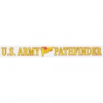 "U.S. Army Decal - 14"" - ""US Army Pathfinder"" Strip"