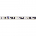 "U.S. Air Force Decal - 16"" - Air Nat Guard - Strip"