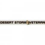 "Veteran Decal - 15"" - ""Operation Desert Storm Vet"""