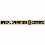 "U.S. Air Force Decal - 15"" - Spec Ops Comm - Strip"