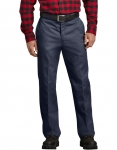 Closeout - Pants - Dickies - Relaxed Fit Flannel Lined Work Pants Navy Blue