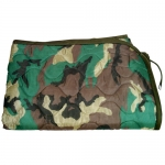 Liner for Poncho - Woodland Camo