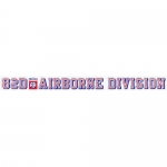 "U.S. Army Decal - 24"" - 82nd Airborne Div - Strip"