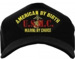 USMC ID Ballcap - American by Birth USMC