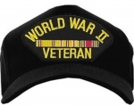 Veteran Ball Cap - WWII Veteran Pacific
