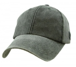 Blank Cap - Black Distressed