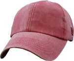Blank Cap - Crimson Distressed