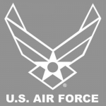 "U.S. Air Force Decal - 13"" - USAF Wings - Jumbo"
