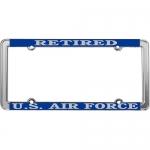 United States Air Force Retired License Plate Frame