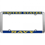 United States Navy Metal License Plate Frame