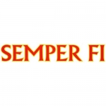 "U.S. Marines Decal - 15"" - ""SEMPER FI"""