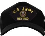 US Army Ballcap - Retired with Eagle