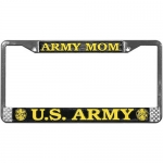United States Army Mom License Plate Frame