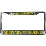 United States Army Military Police License Plate Frame