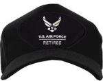 "USAF Ballcap - Retired - ""U.S. Air Force"" with wings"