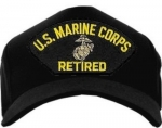 USMC ID Ballcap - Retired with EGA Logo