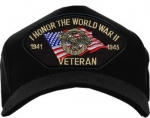 Veteran ID Ballcap - I Honor the WWII Vets 1941-1945
