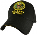 US Army Ballcap - Retired with Army Seal