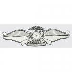 "U.S. Navy Decal - 6"" - Fleet Marine Device"