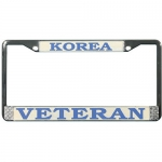 United States Korea Pride License Plate Frame